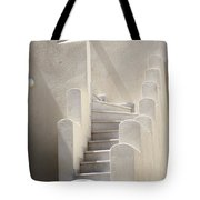 Stairs In Greece Tote Bag
