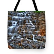 Stairs Of Water Tote Bag