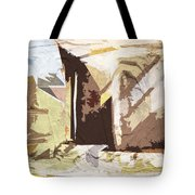 Stairway To Heaven Abstract Tote Bag