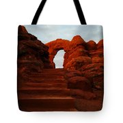 Stairwell To The Gods  Tote Bag