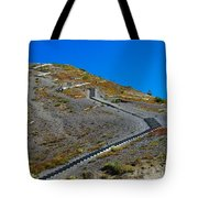 Stairwell To Windy Point  Tote Bag