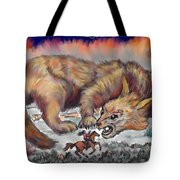 Stalked By Fate Tote Bag