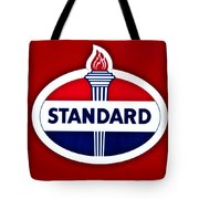 Standard Oil Sign Tote Bag