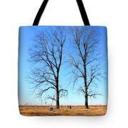 Standing Alone Together Tote Bag