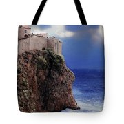Standing At The Edge Of Time Tote Bag