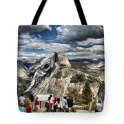 Standing In Awe Tote Bag