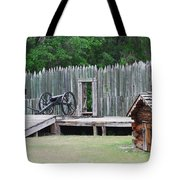 Standing Ready Tote Bag