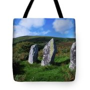 Standing Stone Alignment, Near Tote Bag