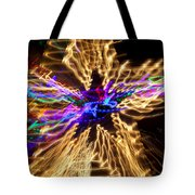Star Abstract Tote Bag by Garry Gay