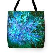 Star Burst In The Milky Way Tote Bag