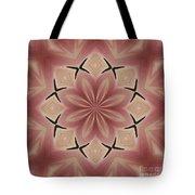 Star Magnolia Medallion 4 Tote Bag
