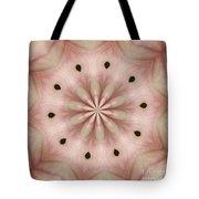 Star Magnolia Medallion 5 Tote Bag