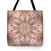 Star Magnolia Medallion 6 Tote Bag