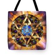 Star Of David Three Tote Bag