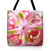 Star Of The Show Hyacinth  Tote Bag