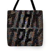 Star Trek Scene Mosaic Tote Bag
