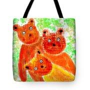 Stargazing Teddy Bears Tote Bag