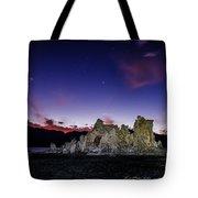 Starry Night Tufa Tote Bag