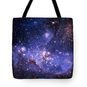 Stars And The Milky Way Tote Bag