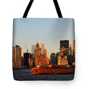 Staten Island Ferry 3 Tote Bag