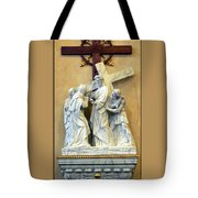 Station Of The Cross 04 Tote Bag