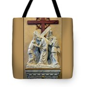 Station Of The Cross 05 Tote Bag