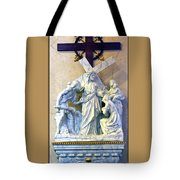 Station Of The Cross 08 Tote Bag