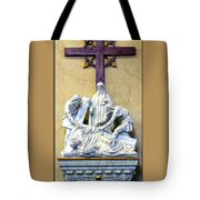 Station Of The Cross 09 Tote Bag