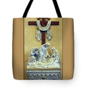 Station Of The Cross 13 Tote Bag