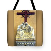 Station Of The Cross 14 Tote Bag