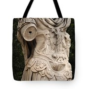 Statue Of Greek Soldier Tote Bag