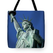 Statue Of Liberty Tote Bag by Brian Jannsen