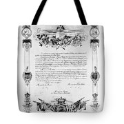 Statue Of Liberty: Deed Tote Bag