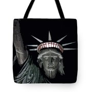 Statue Of Liberty Poster Tote Bag