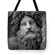 Statue With Eyes Tote Bag