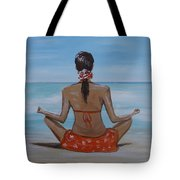 Staying Calm Tote Bag
