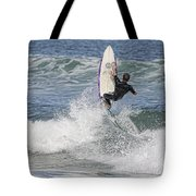 Staying On The Board Tote Bag