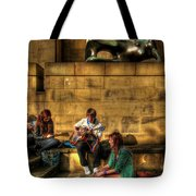 Staying Tuned Tote Bag