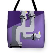 Steam Pipes Tote Bag