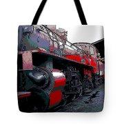 Steam Punk Railroad Tote Bag