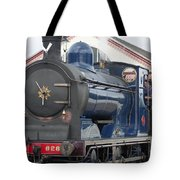 Steam Train Tote Bag