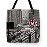 Steamboat Streets Tote Bag