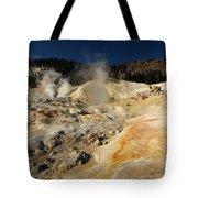 Steaming Organge Crust Tote Bag