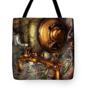 Steampunk - Naval - Shut The Valve  Tote Bag