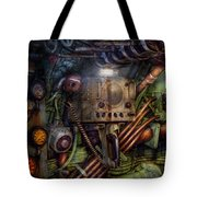 Steampunk - Naval - The Comm Station Tote Bag