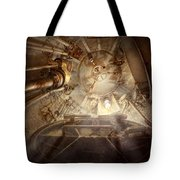 Steampunk - Naval - The Escape Hatch Tote Bag
