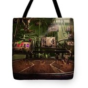 Steampunk - Naval - This Is Where I Do My Job Tote Bag