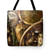 Steampunk - Naval - Watch The Depth Tote Bag