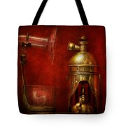 Steampunk - The Torch Tote Bag