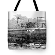 Steamship Launch, 1876 Tote Bag